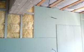 Утепление кирпичных стен изнутри своими руками с гипсокартона