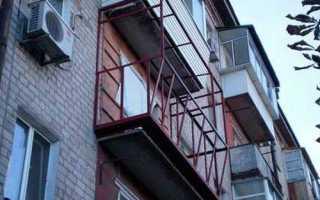 Варианты балкона в хрущевке своими руками