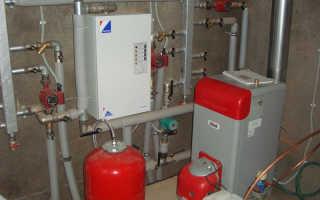 Электрокотел для отопления частного дома на антифризе