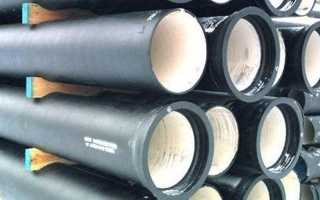 Чугунная труба для канализации диаметр 150