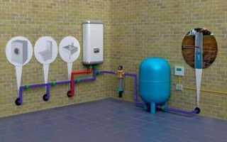 Что нужно для того чтобы провести воду в дом от водопровода
