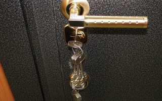 Установить железную дверь своими руками
