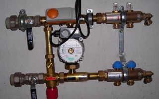 Автоматика для систем водяного теплого пола