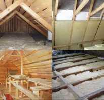 Теплоизоляция и гидроизоляция крыши в бане