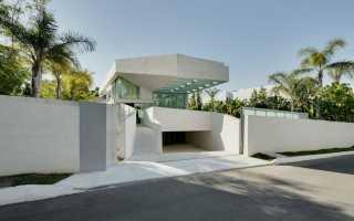 Дом с бассейном на крыше как построить