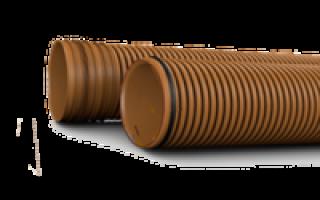 Труба пп для наружной канализации 225 мм