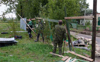 Как демонтировать металлический забор