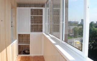 Балкон и лоджия отделка под покраску