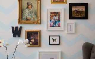 Панно на стену с фотографиями своими руками