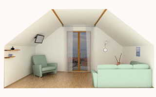 Устройство крыши в деревянном доме мансарда