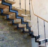 Лестница из труб без сварки