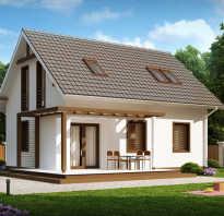 Строительство одноэтажного дома с мансардой своими руками