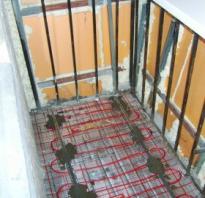 Теплый пленочный пол на балконе своими руками