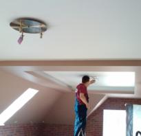 Наклонные потолки на мансарде фото