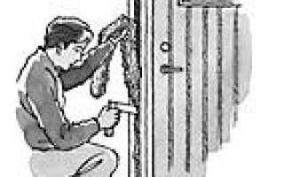 Установка финских дверей своими руками
