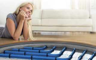 Схема водяного теплого пола с теплообменником в квартире