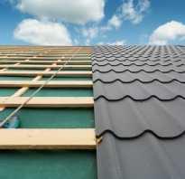 Утепление и гидроизоляция крыши под металлочерепицу