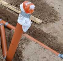 Глубина залегания канализации для частного дома