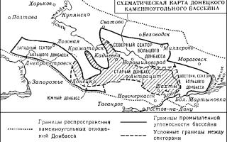 Донецкий бассейн какое месторождения