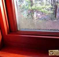 Что сделать чтобы деревянные окна не потели между рамами