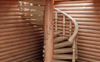Винтовая деревянная лестница своими руками видео пошаговая инструкция
