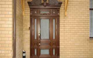 Чем можно обшить дверь входную