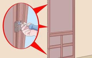 Что делать если входная дверь просела