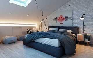 Как сделать ремонт для спальни мансарда