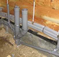 Водопровод и канализация для деревянного дома