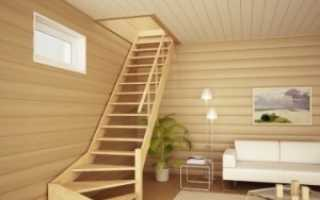 Как сделать лестницу на 2 этаж своими руками из дерева