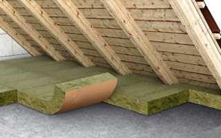 Чем утеплить потолок со стороны чердака в частном доме своими руками
