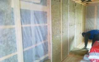 Утепление стен в деревянном доме изнутри минватой своими руками