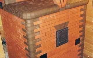 Банные печи с закрытой каменкой для русской бани и баком для воды