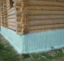 Чем утеплить фундамент деревянного дома снаружи своими руками