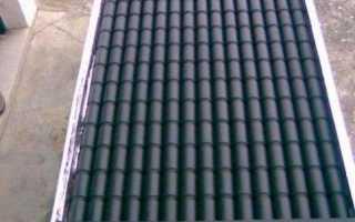 Тепловой коллектор на крышу сделать самому