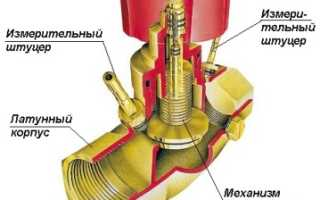 Автоматический балансировочный клапан для двухтрубной системы отопления