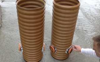 Для чего гофрированная труба в канализации