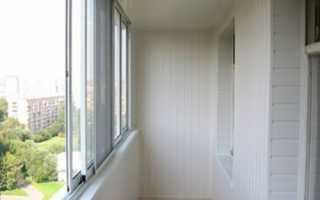 Как отделать балкон внутри сайдингом своими руками