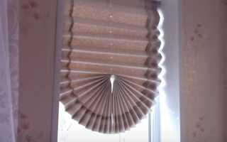 Временные шторы на окна своими руками