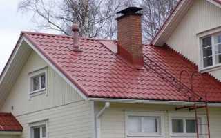 Как сделать лестницу на крышу из шифера своими руками