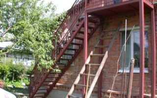 Как сделать лестницу на улице своими руками