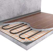 Схема комплектующие для водяного теплого пола