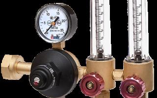 Кислородные редукторы для газовой сварки