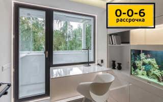 Установка балконной двери уфа