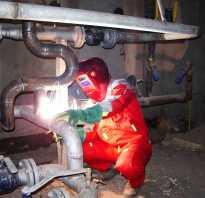 Методы сварки стальных труб