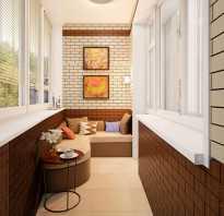 Чем покрыть стену из кирпича на балконе
