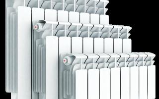 Rifar радиатор отопления биметаллические с межосевым расстоянием 350