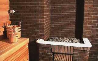 Баня с дровяной печью своими руками