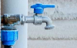 Чем утеплить водопровод при входе в дом