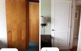 Чем можно обновить старую дверь